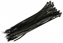 Vázací páska 120x2,5 (50 kusů) Čern...