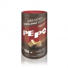 PE-PO podpalovač kostičky/100ks/tuba