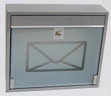Poštovní schránka KVIDO - se sklem ...
