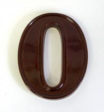 Domovní číslice - keramické 0-9