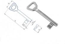 Klíč 01-15 obyčejný č. 1 Zn (zinek)