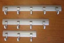Věšák BRUNO čtyřháček 294mm Al (4 h...