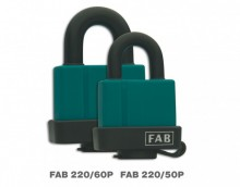 Visací zámek FAB 220/60P, 2 klíče